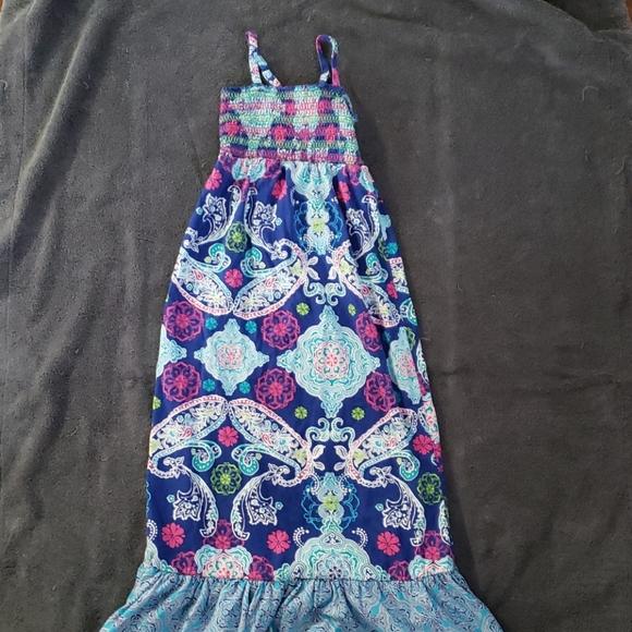 Children's Place Maxi Dress, EUC, 7/8